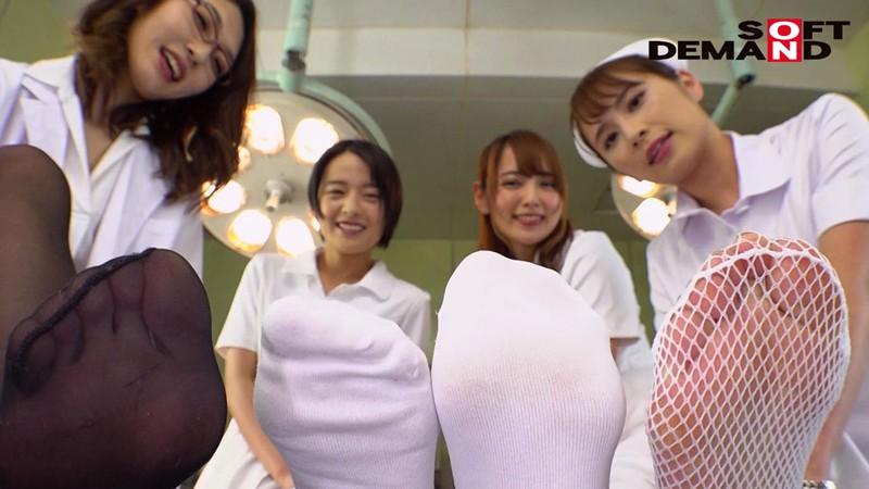 痴女っ気たっぷりなナースと女医がオナニーをコントロールしてくれる『センズリ指示(JOI)病院』